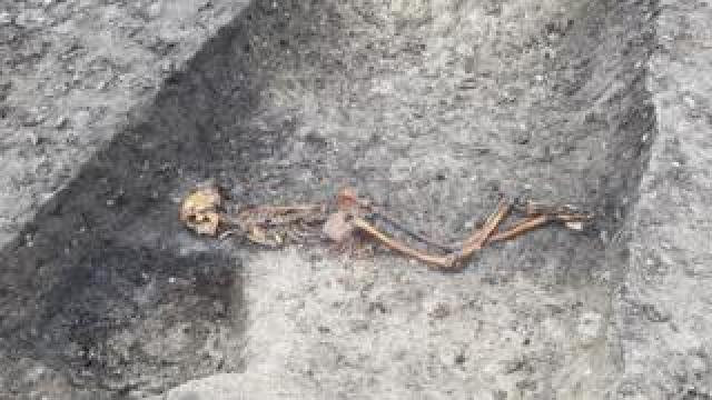 Iron Age skeleton