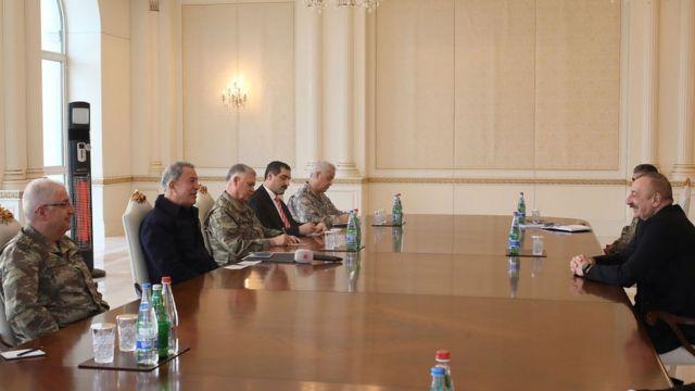 Aliyev ve Akar