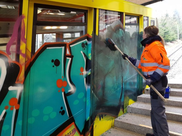 BIOforte Expert Graffiti Cleaning and Prevention