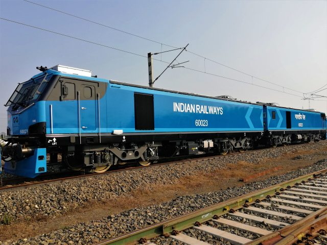 Alstom Prima T8 electric locomotive for Indian Railways
