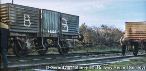 Tow-rope shuntig in action at Ardfert, 1976.