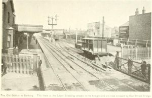 Barking station before 1906.