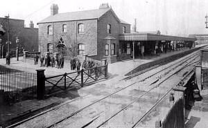 Barking station pre-1906