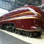 Railway blog best posts - Duchess of Hamilton steam locomotive at the National Railway Museum