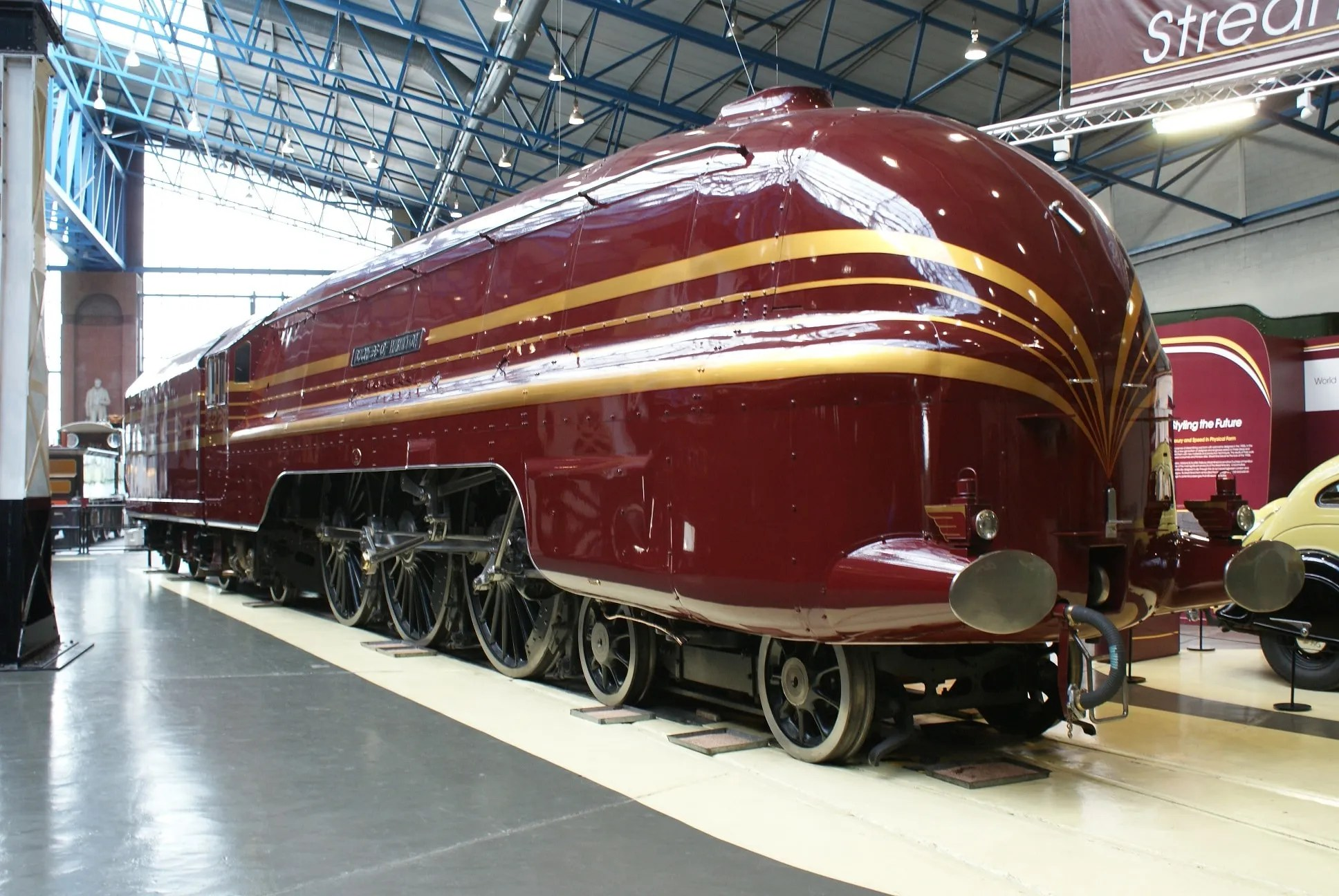 Duchess of Hamilton - National Railway Museum - LMS Princess Coronation Class - 6229
