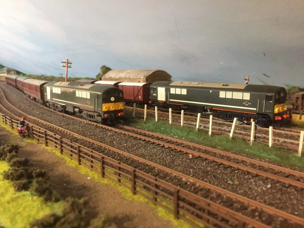 00 Gauge model railway Class 28 Co-Bo locomotives