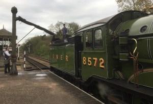 GER Class S69 - LNER B12 - 8572 - North Norfolk Railway - 2017
