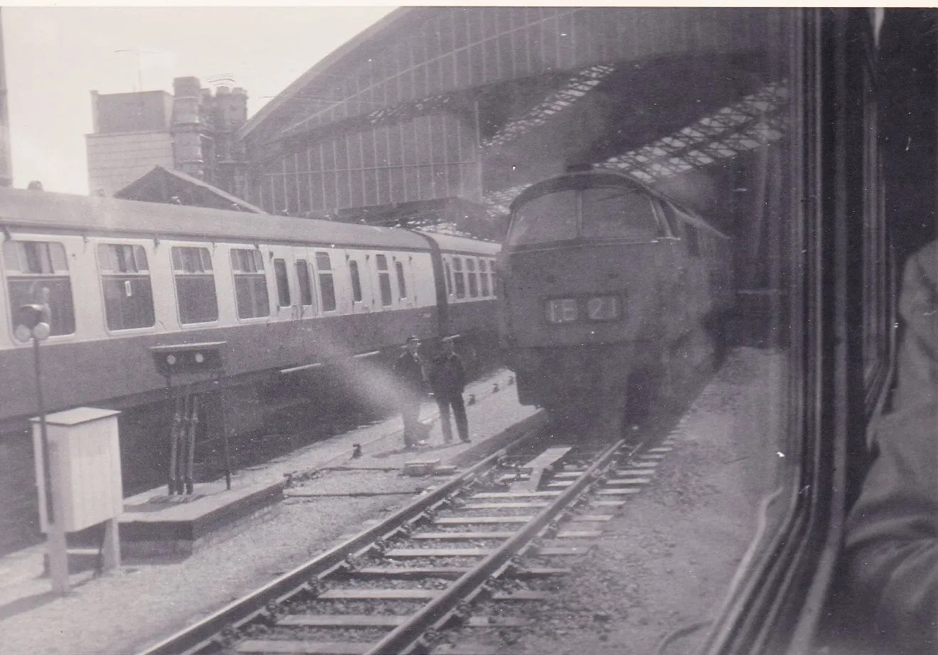 Bristol Temple Meads station on British Railways in the 1970s