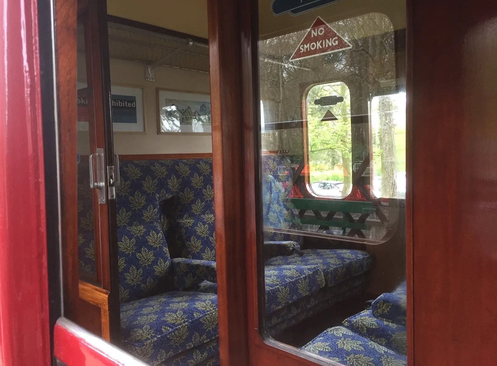 British Railways Mark 1 suburban carriage at the North Norfolk Railway