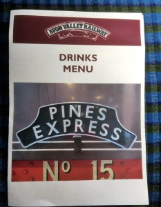 Pines Express Drinks Menu