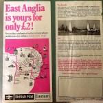 British Rail l- 1971 - East Anglian Ranger Ticket