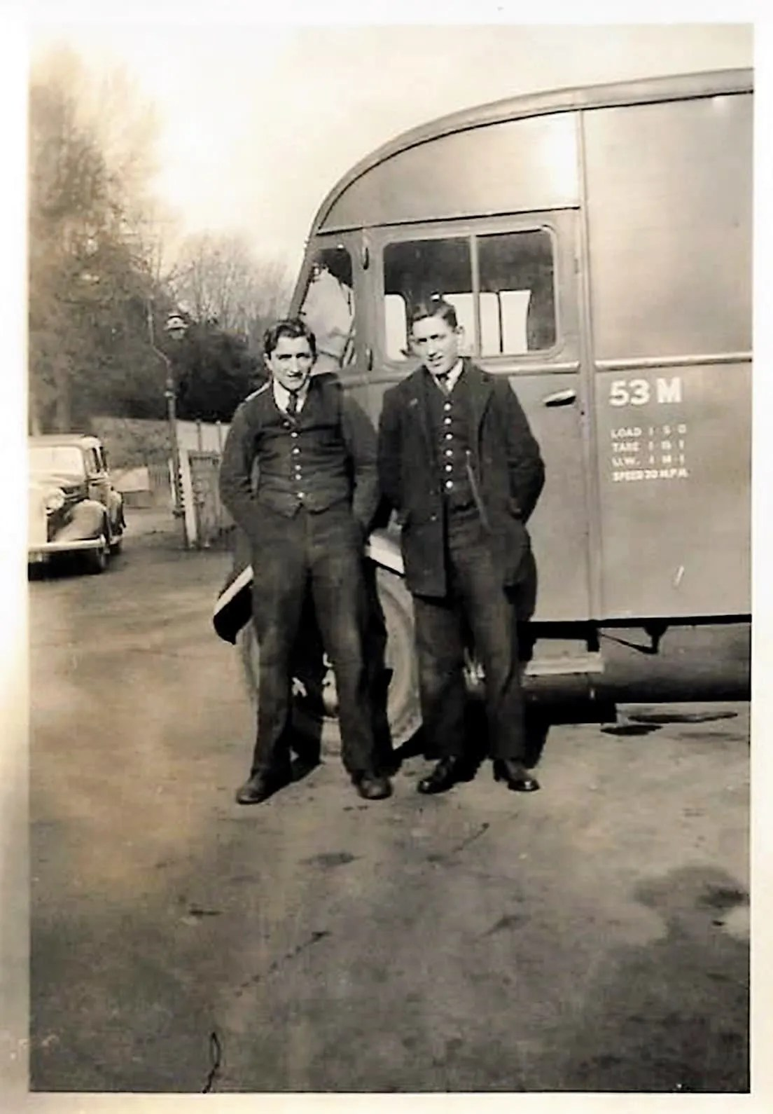Feb1946 Lionel Patch Dick Morton - sidmouth railway station