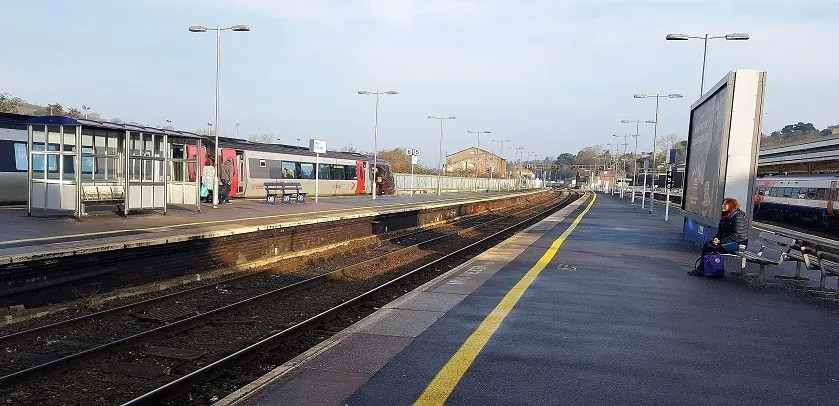 Exeter st davids - railway station - visit with a railcard