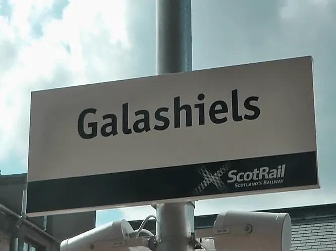 Galashiels railway station