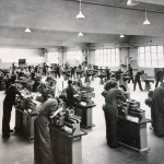 Turning Section Crewe Works Apprentice Training School