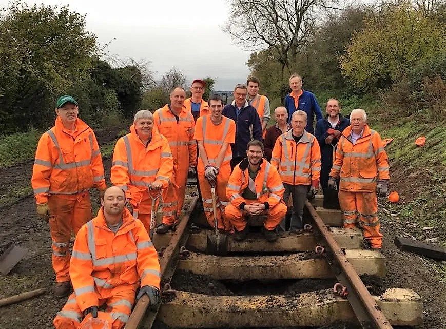 somerset and dorset railway extension team