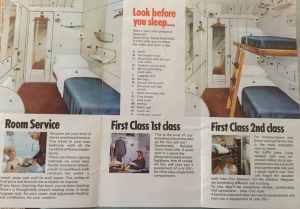 BR Mark 1 sleeper train leaflet