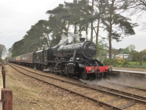 steam train trips - day train trips - UK