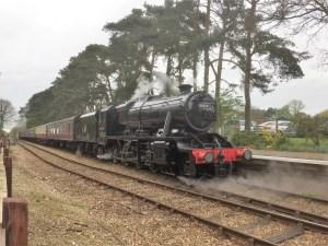 steam train trips - day train trips - UK