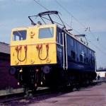 Class 76 locomotive at Crewe Works