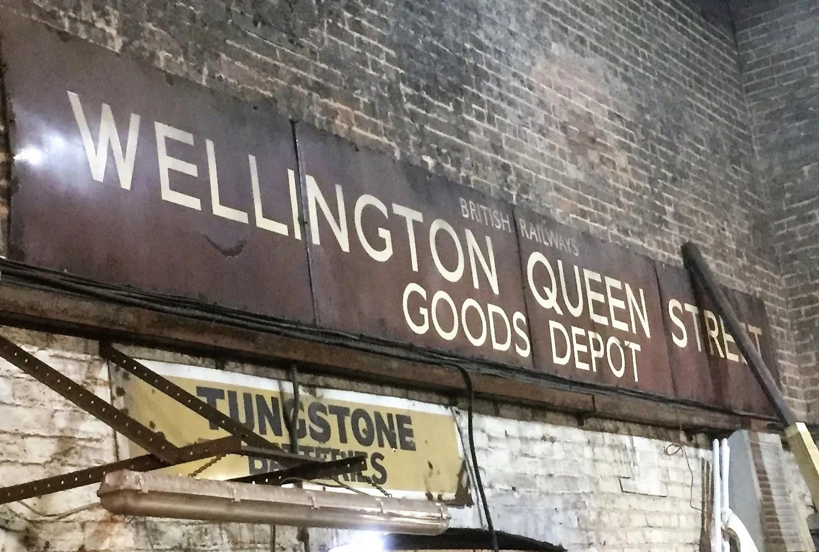 Wellington Queen Street Goods at Telford Steam Railway
