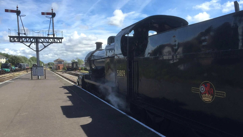 Steam Locomotive 53809
