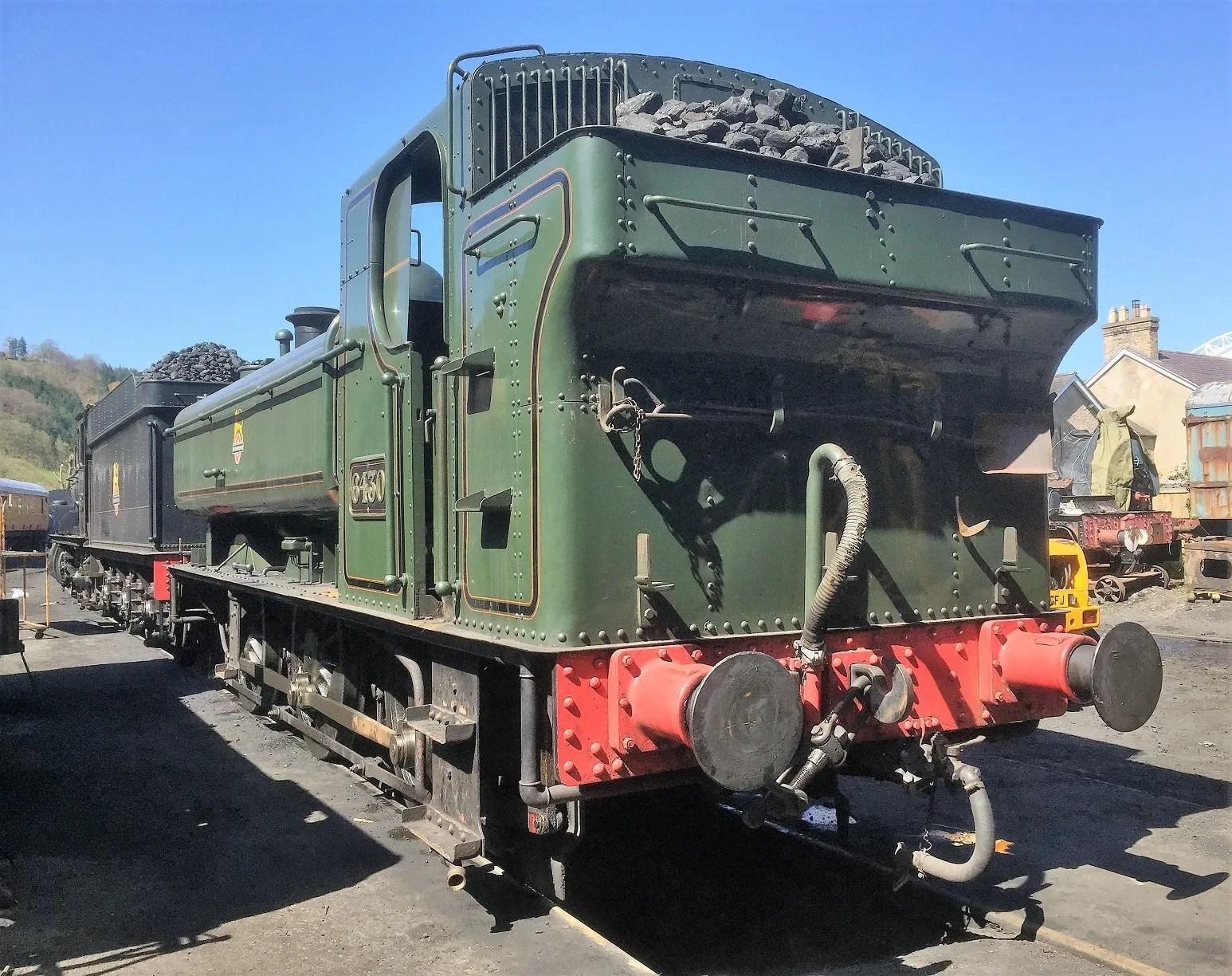 GWR Pannier Tank at Llangollen Railway