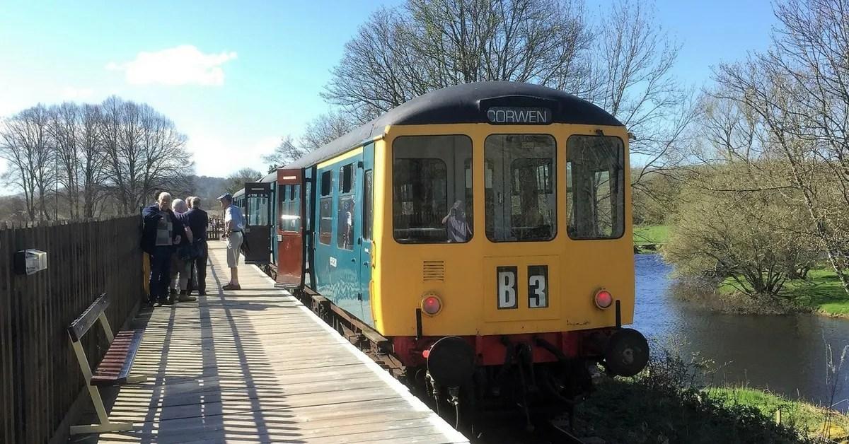Class 104 at Llangollen Railway
