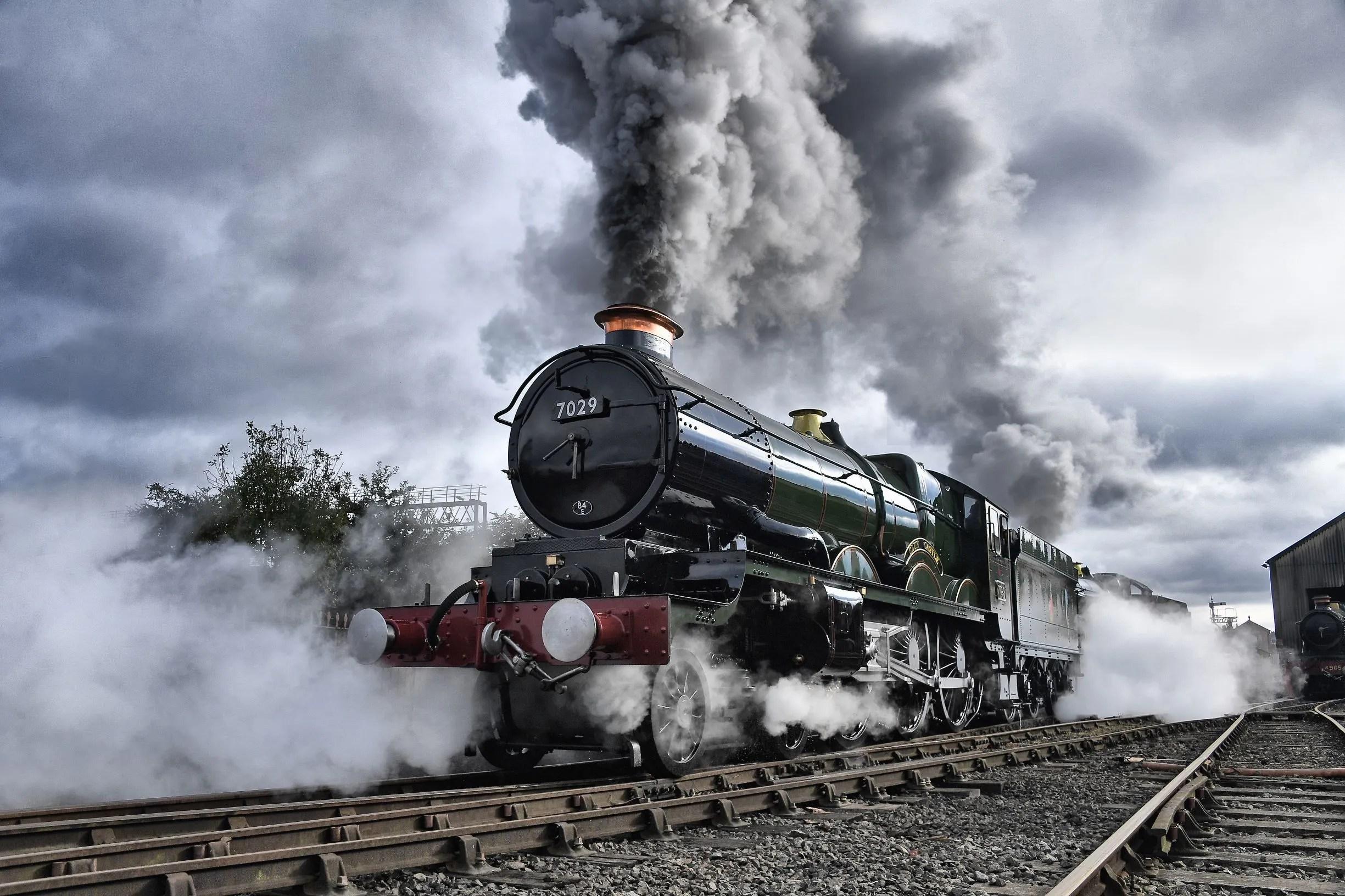 Steam Locomotive Clun Castle