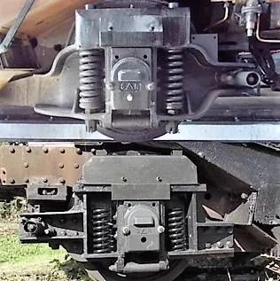 Bulleid steam locomotive restoration of 35011 Trailing Truck