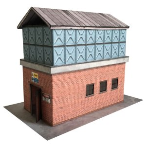 OO scale water tower