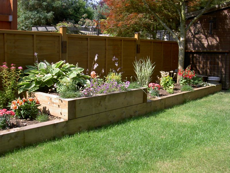 Raised Border Planting Ideas