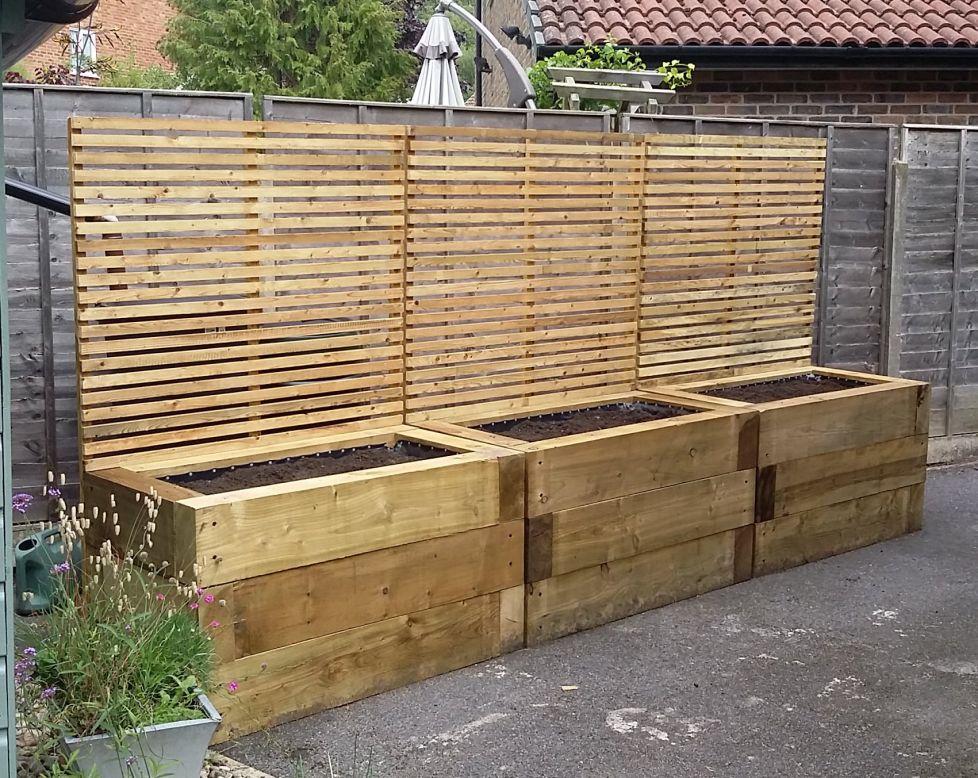 Raised Garden Decking Ideas