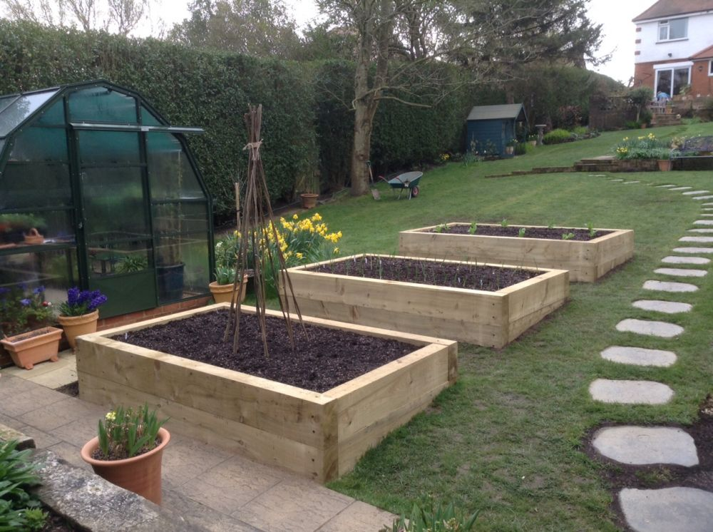 High Raised Garden Beds