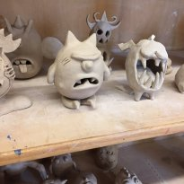Create Your Own Monsters Art Class