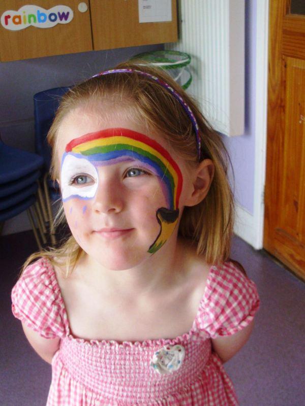 Face Painting | Rainbow Bright Day Care & Nursery School
