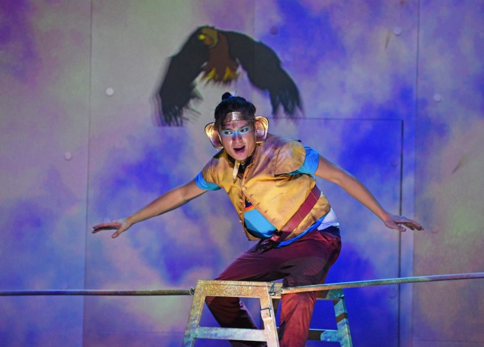 Zachary Ibrahim as Hanuman in Hanuman - The Superhero Monkey