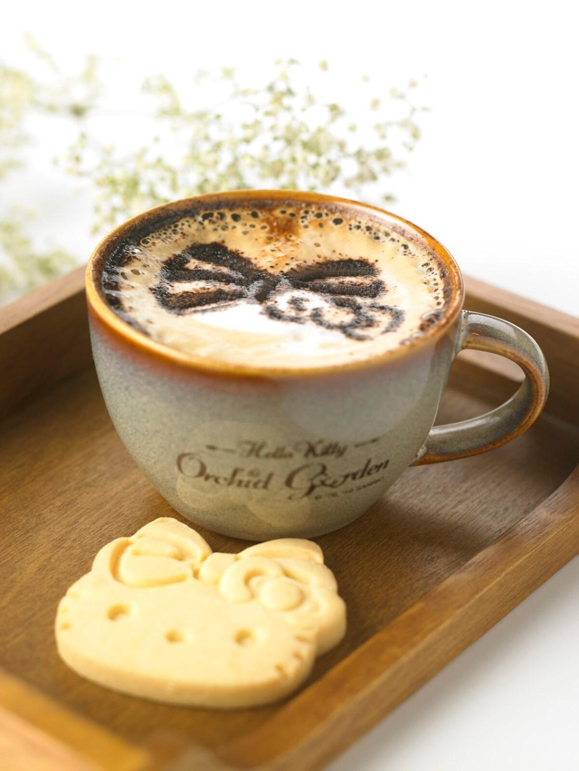 Hello Kitty Orchid Garden - Latte