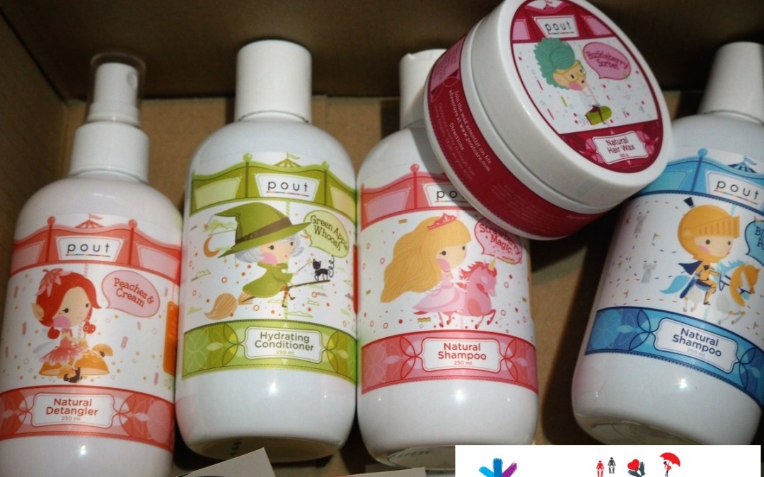 {Review+Giveaway} pout! Kids hair care range – Fruity fragrant, All natural with Carousel theme