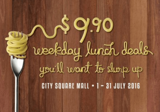 {Giveaway} Satisfy your cravings with Crave! – $ 9.90 foodie deals @ City Square Mall