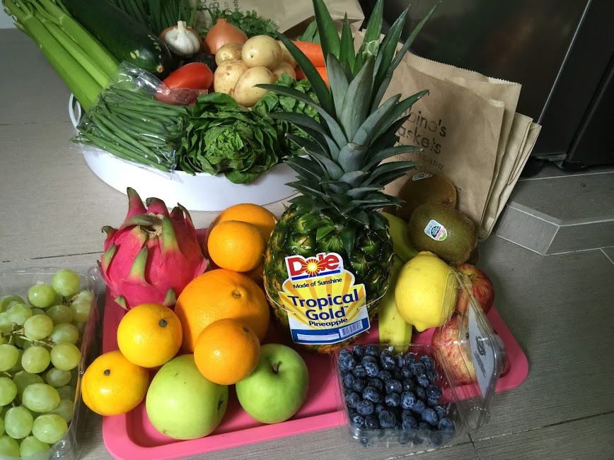 {Giveaway} Fresh n Healthy Fruit & Veg Combo by Sabine's Basket