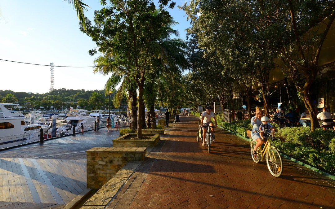 [Things to do in Singapore]One awesome April Evening in Quayside Isle @ Sentosa Cove