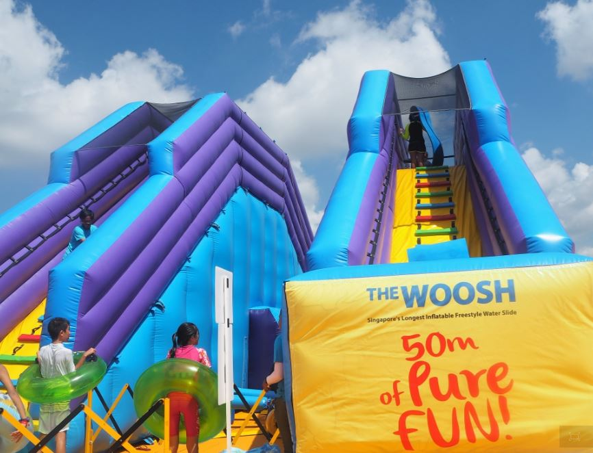 The Woosh at Wild Wild Wet – Seeing Double, Twice the Fun