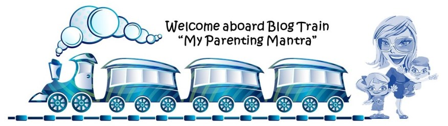 my Parenting Mantra Blog Train Badge