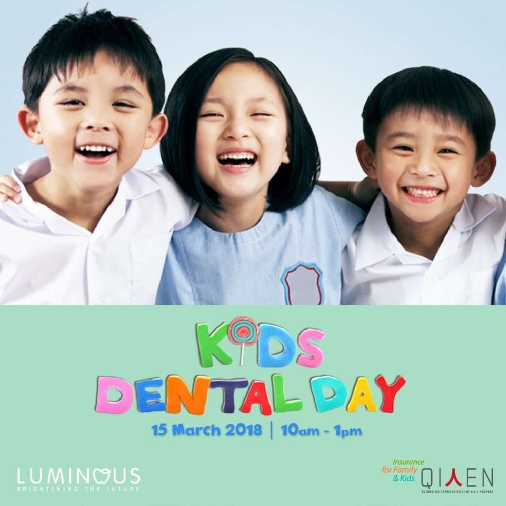 Kids Dental Day, Qiren Organisation, Luminous Dental, RainbowDiaries