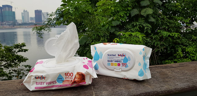{Review and Giveaway} These Baby Wipes are truly gentle for delicate skin