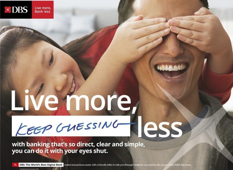 """""""Live more, Bank less"""" says DBS CEO Piyush Gupta"""