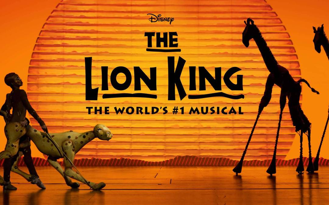 Disney's THE LION KING opens on 27th June at Marina Bay Sands