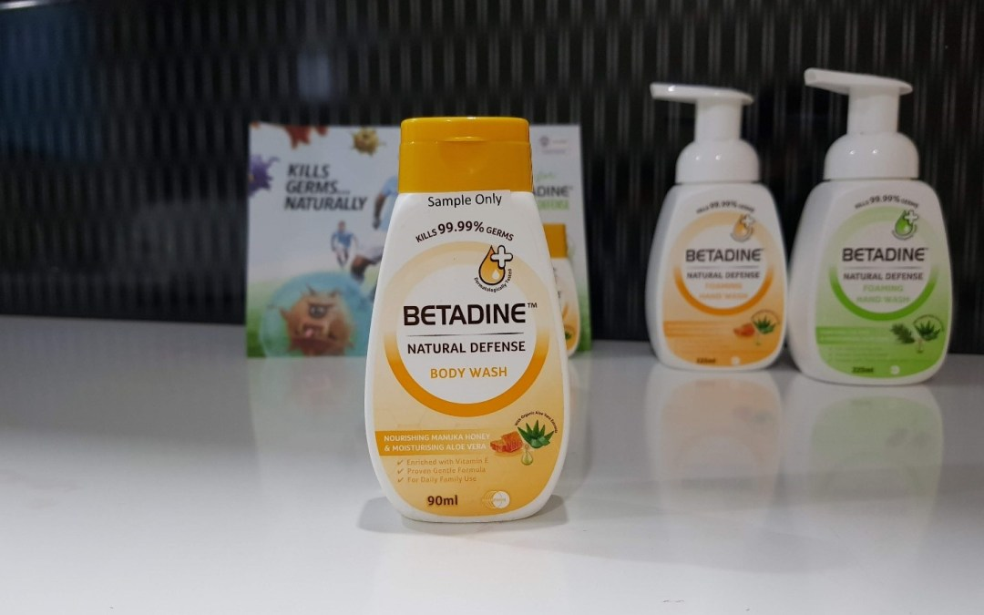 Natural Defense range of Betadine®