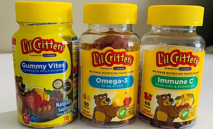 Mom's job made easy with L'il Critters – America's No. 1 Gummy Vitamins